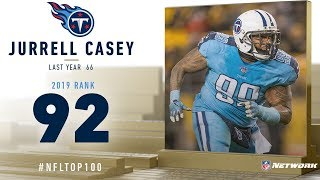#92: Jurrell Casey (DE, Titans) | Top 100 Players of 2019 | NFL