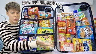 I EXPOSED food items tourists sneak out of the USA