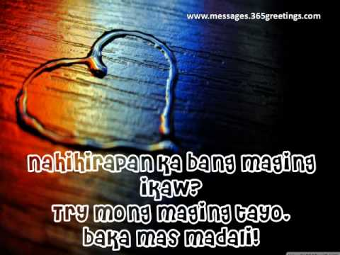 Latest Pick Up Lines Tagalog