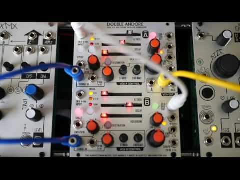 Double Andore MkII - Industrial Music Electronics (The Harvestman)