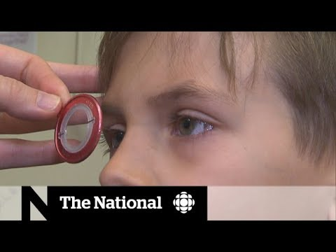 Too much screen time may be damaging kids' eyesight