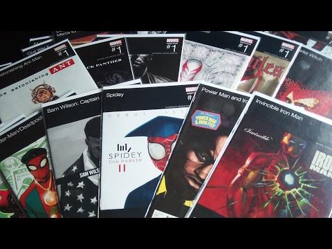 Marvel Hip-Hop Album Varaint Cover Comics Haul and Review