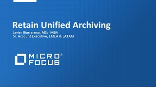 Using Unified Archiving to protect E-Mail on Premise and in the Cloud