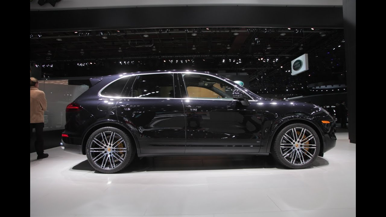 2016 cayenne turbo s 2015 detroit auto show youtube