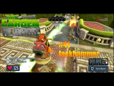 Plants Vs Zombies : Garden Warfare - #41 - Jackhammer