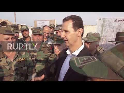 Syria: Assad calls Erdogan a 'thief' during rare visit to Idlib province