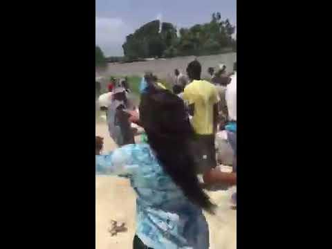 Cargaison de riz jetée à Tabarre : les autorités reagissent