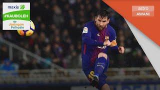 La Liga | Barcelona terpaksa lepaskan khidmat Messi #KauBoleh