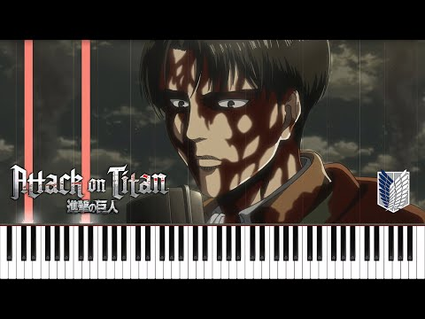 Levi's Choice (ThanksAT/T-KT) - Attack On Titan Season 3 Part 2 EP 6 OST Piano Synthesia Tutorial