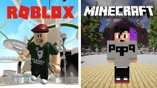 Roblox - Minecraft a rencontré kijkers !! | Stream Playback 2-4-2017
