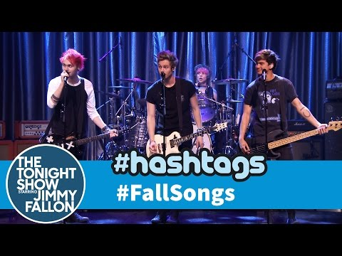 Thumbnail: 5 Seconds of Summer Hashtags: #FallSongs