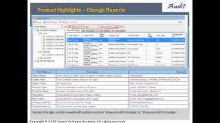 Active Directory Change Reporting - Active Directory Change Tracker
