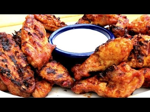 BEST EVER Buffalo Wing Recipe - How to Make Crispy Buffalo Wings