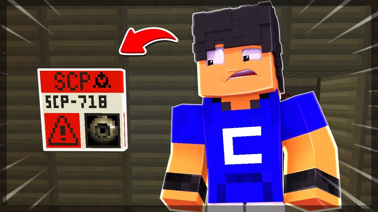 ACHEI O SCP 718!! #5 - Minecraft SCP #1