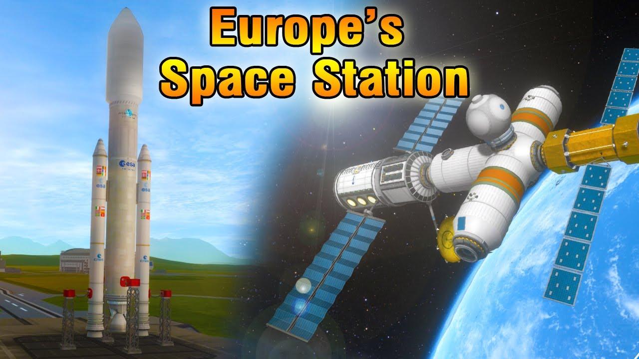 KSP: The Forgotten European Space Station Columbus - Recreation