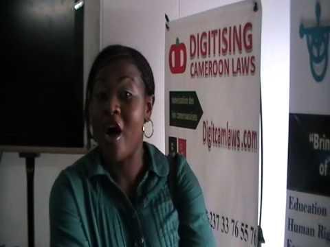 Digitising Cameroon Laws: Amy Banda @ I-Vission International