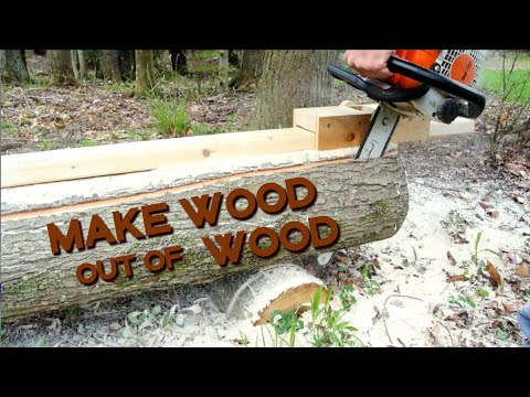 chainsaw-beam-guide-from-wood-(diy-mini-mill)
