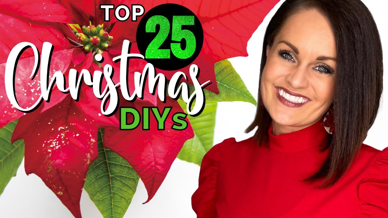 ⭐️Absolute TOP 25 Best HIGH END Christmas Decor DIY Ideas On a Budget!