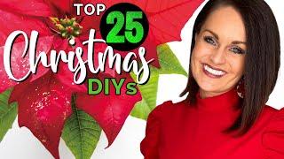 ⭐️Absolute TOP 25 BËST High End Christmas Decor DIYs Ideas On a BUDGET!