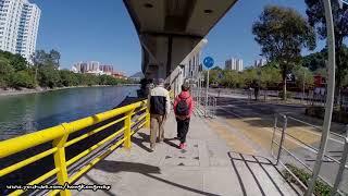 Gambar cover 【Hong Kong Walk Tour】Tai Wai MTR → Wu Kai Sha MTR (Special Video for Jogging)