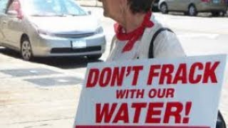 Hydro Fracking and Waste Water Rally in NJ