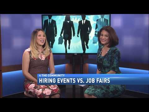 HIRING EVENTS VS. JOB FAIRS