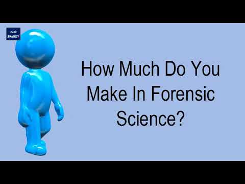 How Much Do You Make In Forensic Science?