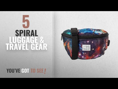 Top 10 Spiral Luggage & Travel Gear [2018]: Spiral Harvard Bum Bag