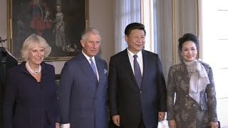 Chinese President Meets with British Prince Charles in London