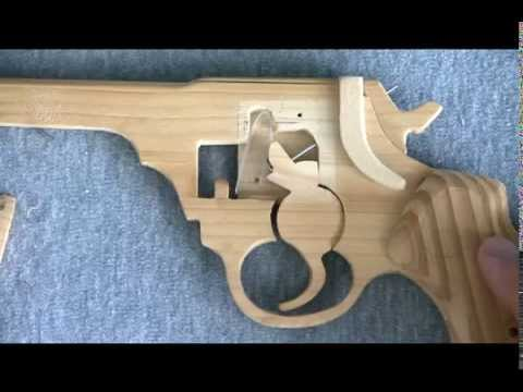 Structure Of The Rubber Band Gun - Magnum Type Youtube
