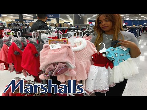 Marshalls  Shop With Me Kids Christmas Dresses **Toys... Baby Clothes
