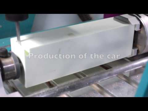 Boxford A3HSRmi2Ex Router machining Centurion Racings F1 in School Car