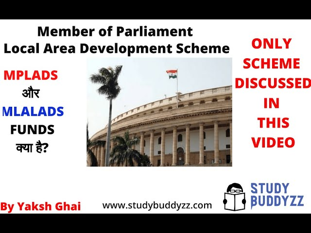 Member of Parliament Local Area Development Scheme | MPLAD | Polity Important Issues | For UPSC 2020