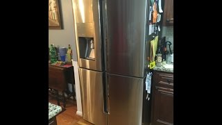 samsung 28 cu ft 4 door flex french door refrigerator in stainless steel review