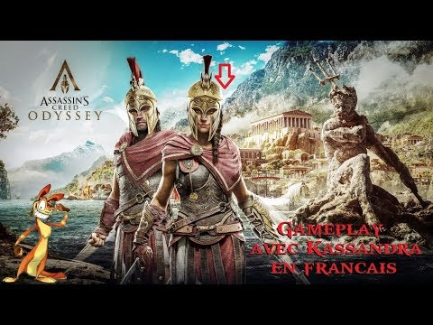 Vidéo Assassin's Creed Odyssey : rôle principal : Kassandra