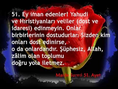 download 116-5 Maide suresi Türkçe Meal 51, 52, 53, 54, 55, 56 ve 57. Aye