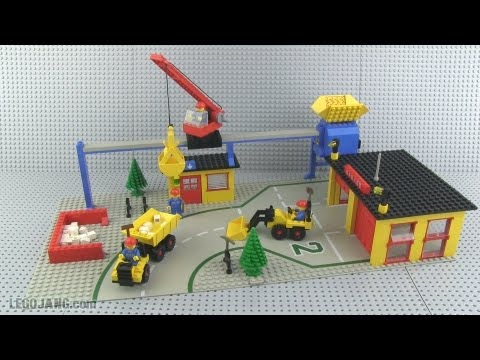 LEGO Public Works Center 6383 build & review, vintage 1981!!