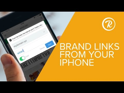 iOS: Share Links From Other Apps on iPhone – Rebrandly