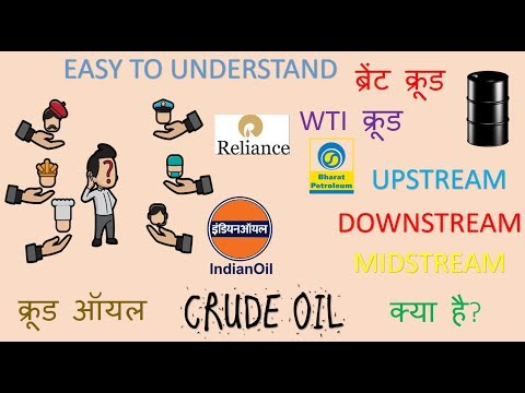 Crude Oil | Difference between WTI and Brent Crude | Upstream and Downstream difference | HINDI