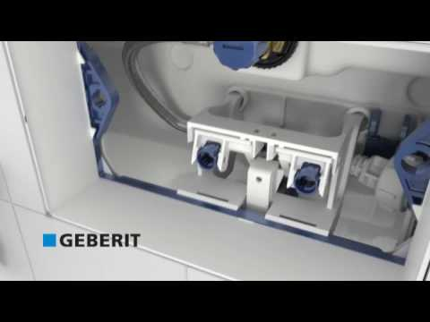geberit sigma installation youtube. Black Bedroom Furniture Sets. Home Design Ideas