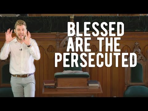THE PERSPECTIVE OF THE PERSECUTED | Matthew 5:10-12 | Peter Frey Sermon
