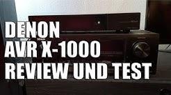 Denon AVR X-1000 Review und Test