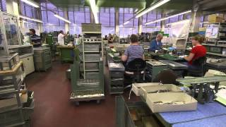 Swiss Army Knief Victorinox Factory  - Megafactories National Geographic Channell