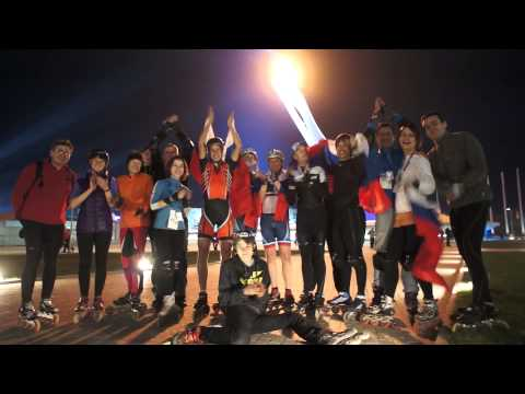 Конькобежка Ольга Граф 3-е место 3000 м 2014