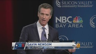 Debate Features All Candidates For California Governor