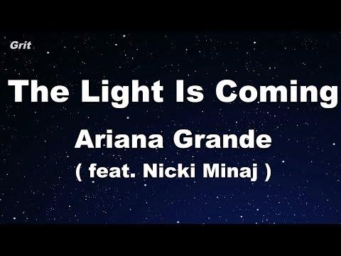 the light is coming (feat. Nicki Minaj) - Ariana Grande Karaoke 【No Guide Melody】 Instrumental