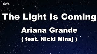 Baixar the light is coming (feat. Nicki Minaj) - Ariana Grande Karaoke 【No Guide Melody】 Instrumental