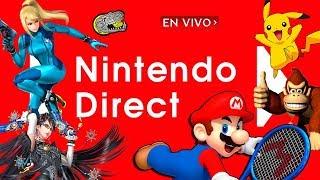 🔴 Reaccionando al Nuevo Nintendo Direct - Que nos espera en el futuro de la Nintendo Switch!