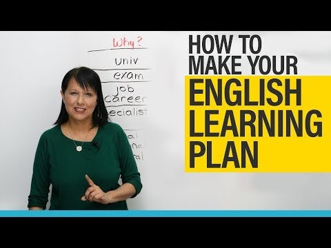 How to make your English learning plan and achieve your goal