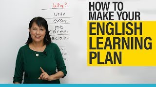 How to make your English learning plan and achieve your goals